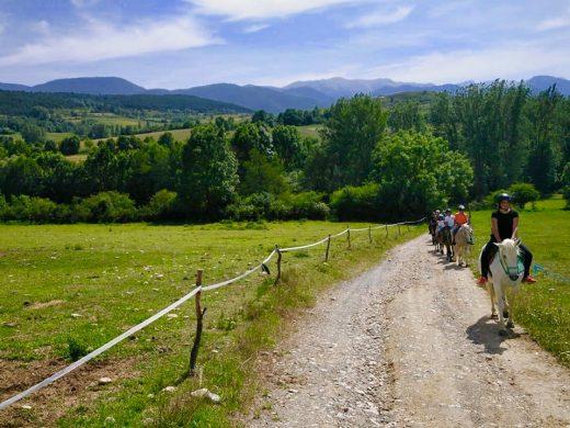 """(Fotos) 37 jóvenes menorquines de """"Aventura en el Pirineo"""""""