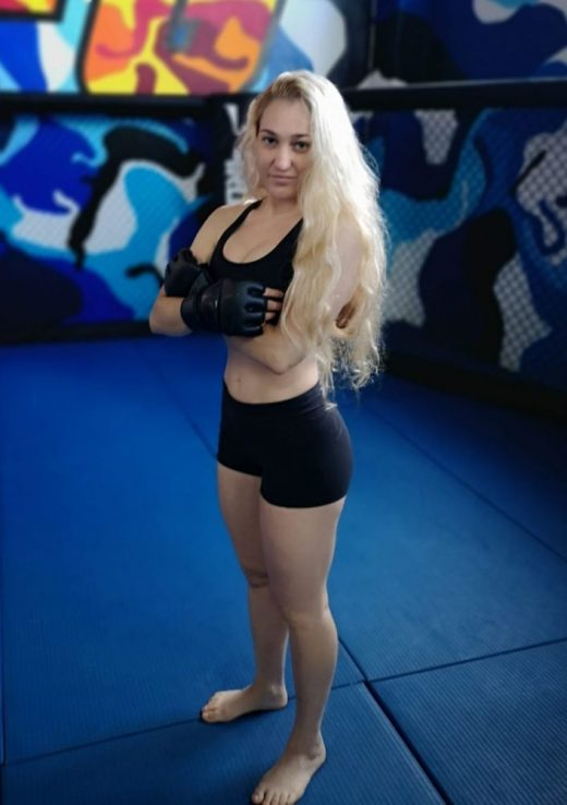 Silvia Juaneda, tras un entreno (Foto: Silvia Juaneda)