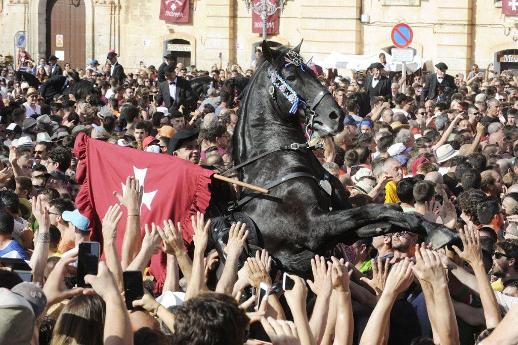 Los caballos han vuelto a ser los protagonistas de una gran fiesta  (Foto: Tolo Mercadal)