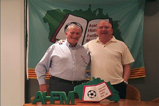 Bernat Petrus (derecha), nuevo presidente AHFM junto a Pedro Torres (Foto: deportesmenorca.com)