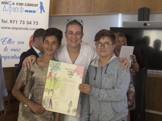 (Galería de fotos) Luz, color y vida para los hospitales de Menorca