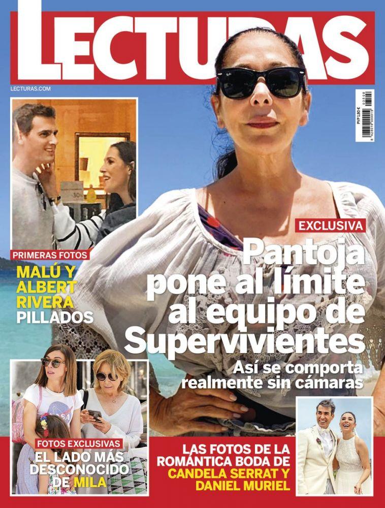 Portada de la revista Lecturas.