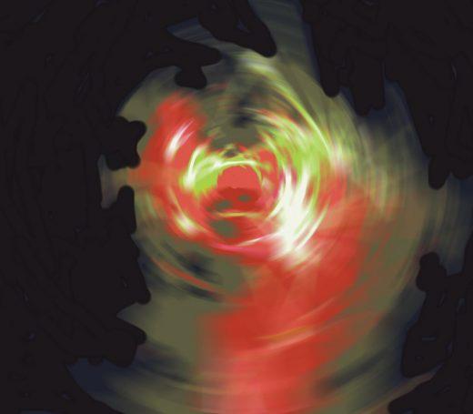 Imagen de una de sus obras.