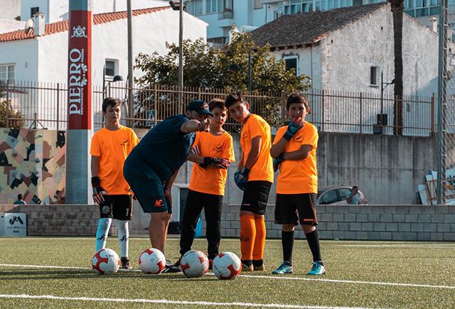 Un momento del campus (Fotos: deportesmenorca.com)