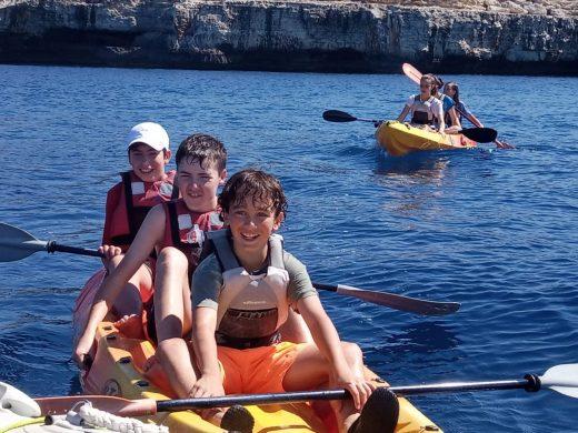(Fotos) De la clase, al kayak