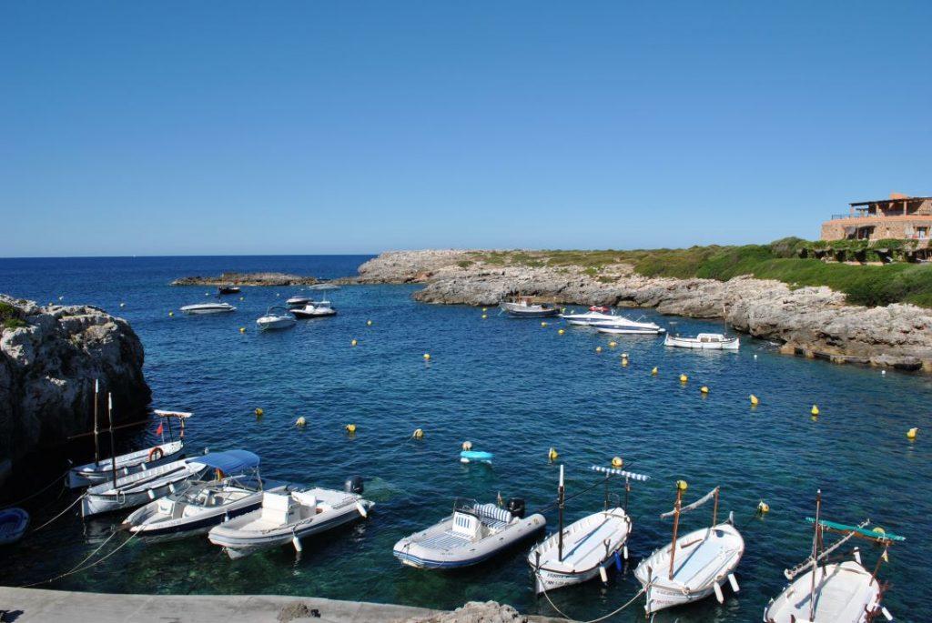 Imagen de Binibeca, al sur de Menorca