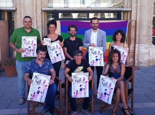 Imagen de la presentación del programa de actividades