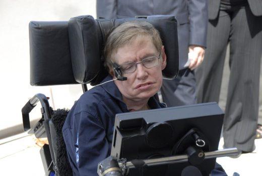 Stephen Hawking fue una de las personas más conocidas afectadas de ELA