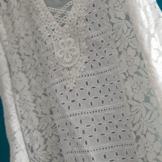 Variados diseños en bordado perforado