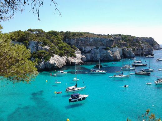 El turismo náutico crece en Menorca