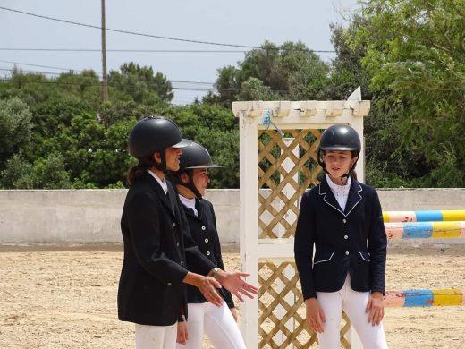 Menorca ya tiene sus campeones de saltos de obstáculos