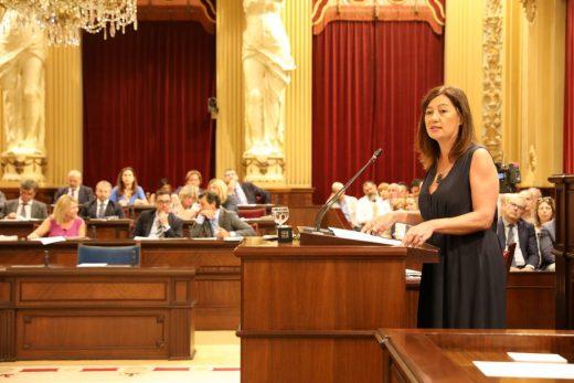"""Armegol ha pedido apoyo para """"culminar la modernización"""" iniciada en la pasada legislatura"""
