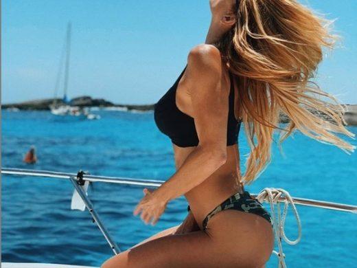 (Fotos) Makoke impulsa el alquiler de yates en Menorca luciendo tipo