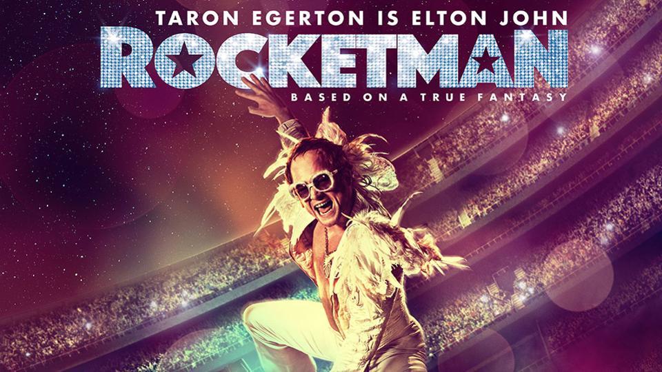 Promoción de la película sobre Elton John.