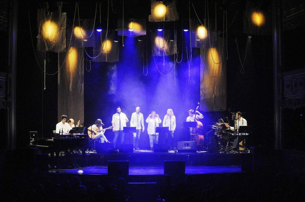 Imagen del concierto homenaje a Traginada en el Principal (Foto: Tolo Mercadal)