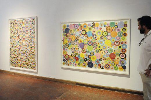 Imagen de una exposición en la Galería Cayón
