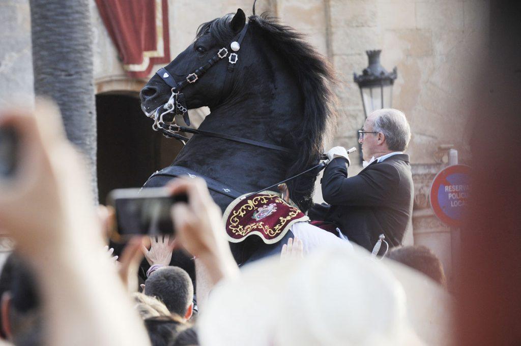 Imagen de archivo de las fiestas de Sant Joan