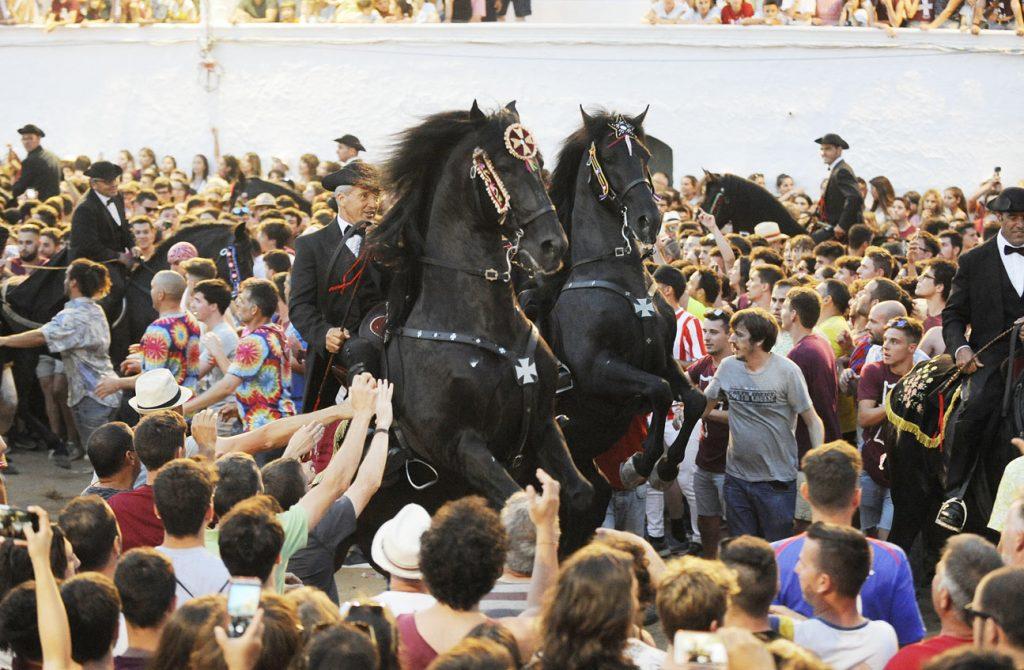 Fiestas de Sant Joan del año pasado (Foto: Tolo Mercadal).