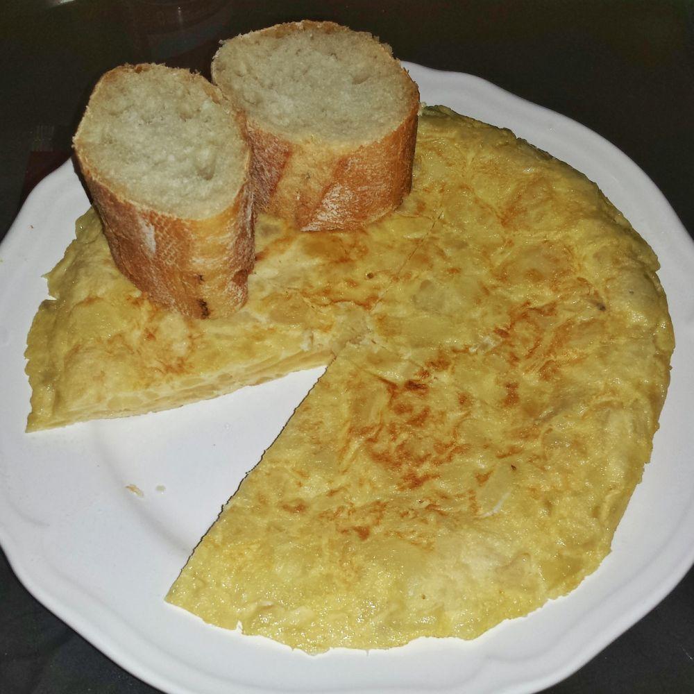 Sencilla y efectiva; la tapa de tortilla de patata