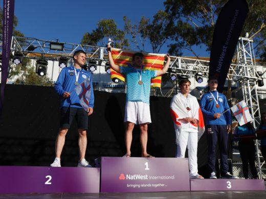 (Fotos)Lluvia de medallas en Gibraltar