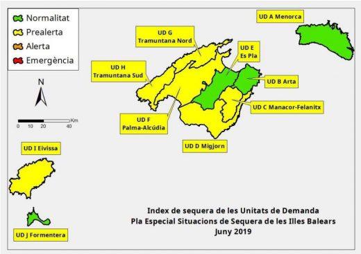 Pese a los malos resultados, Menorca tiene unos parámetros que están dentro de la normalidad