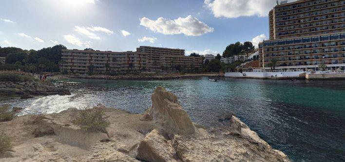 Cala Vinyes, en Mallorca (Foto: mallorcadiario.com)