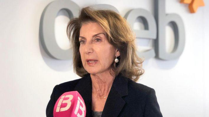 Carmen Planas, presidenta de la CAEB.
