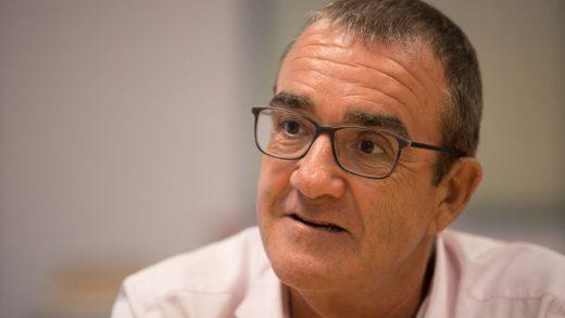 Juan Pedro Yllanes, durante la entrevista (Foto: mallorcadiario.es)
