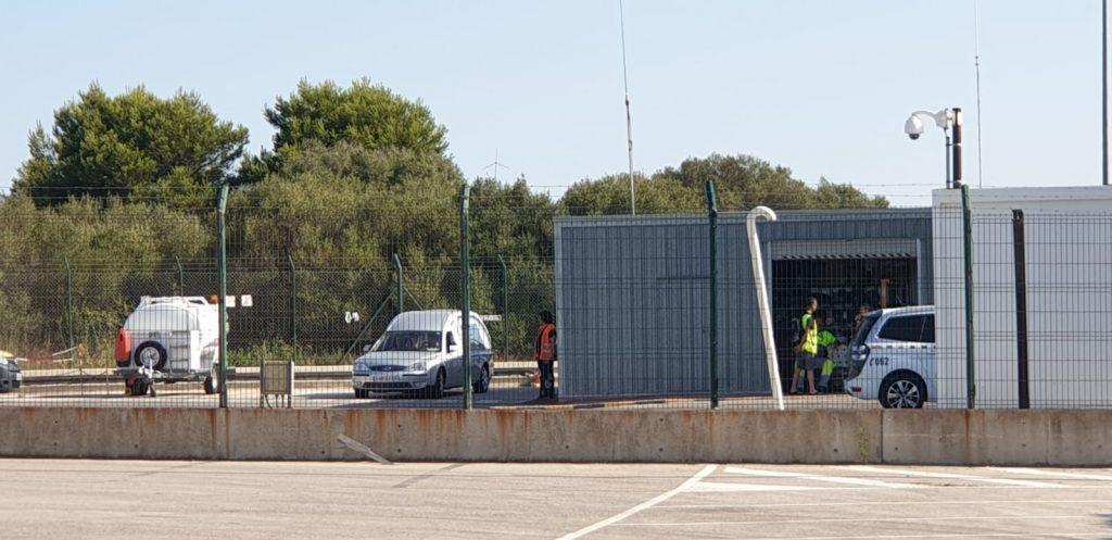 Los trabajadores del aeropuerto de Menorca consternados por la noticia