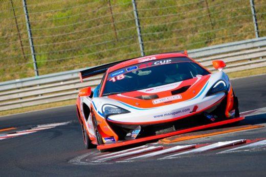 Salom, a mandos de su McLaren.