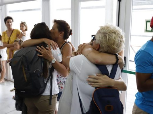 (Fotos) Dulce regreso a casa