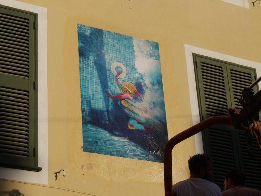 (Fotos) El arte vuelve a las calles de Ciutadella: Street Art 2019