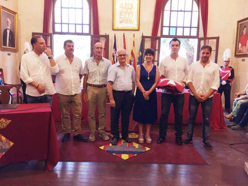 Una imagen del acto (Foto: Ajuntament de Ciutadella)