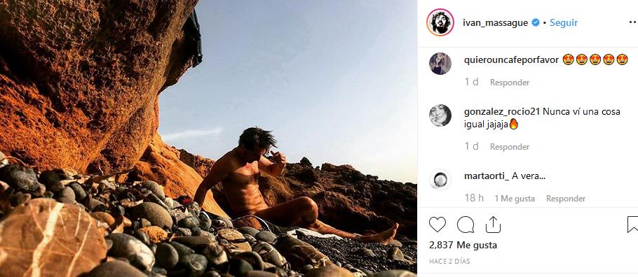 Massagué ha colgado la fotografía en su cuenta de Instagram.
