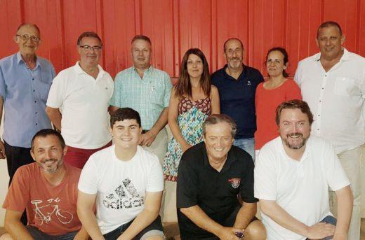 Imagen de los nuevos miembros del comité insular (Foto: Vox)