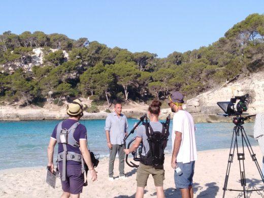 (Fotos) Menorca, en la televisión francesa