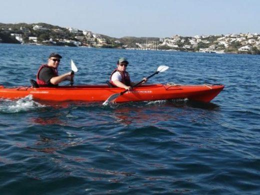 (Fotos) Piragüismo sin barreras en Cala Corb