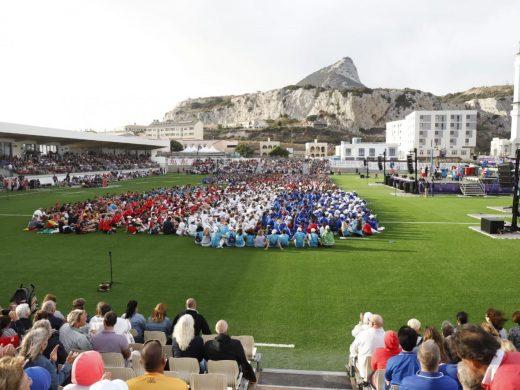 (Galería de fotos) Gibraltar da la bienvenida a Menorca