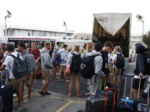 (Galería de fotos) Adiós Gibraltar, hasta pronto Menorca
