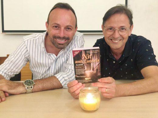 El alcalde, José Luis Benejam, y el concejal Santiago Reurer, en la presentación de esta actividad