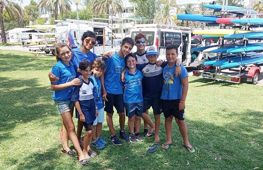 Los más jóvenes disfrutaron de la experiencia (Fotos: CN Ciutadella).
