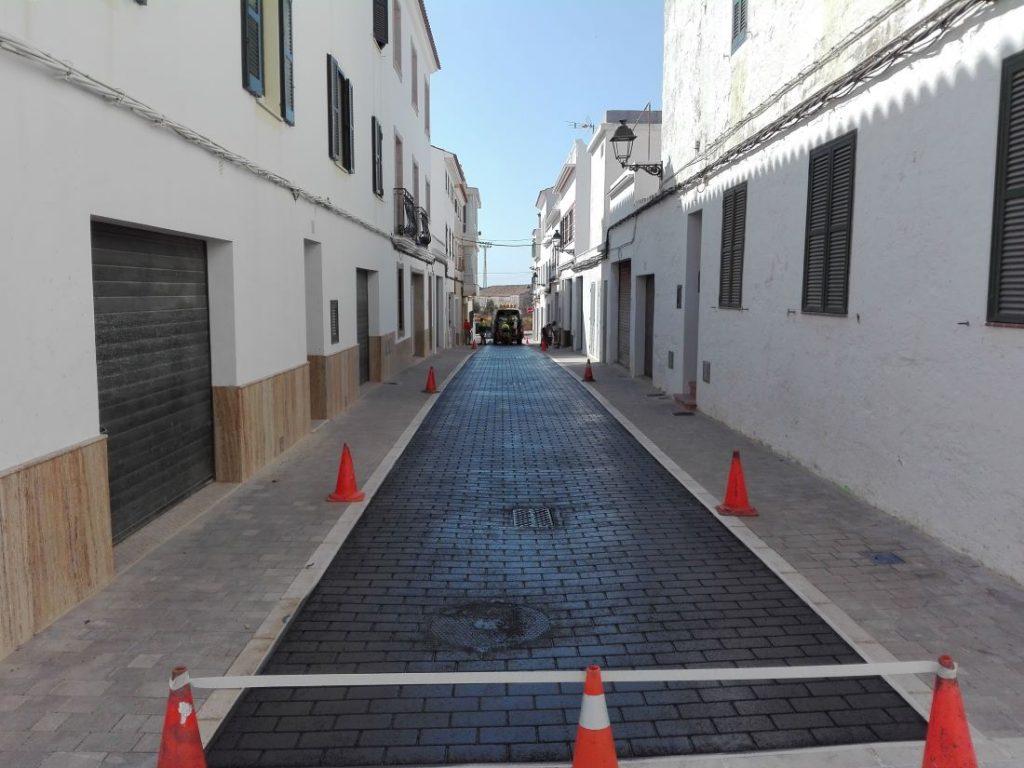 Nueva imagen de las calles de Es Migjorn Gran