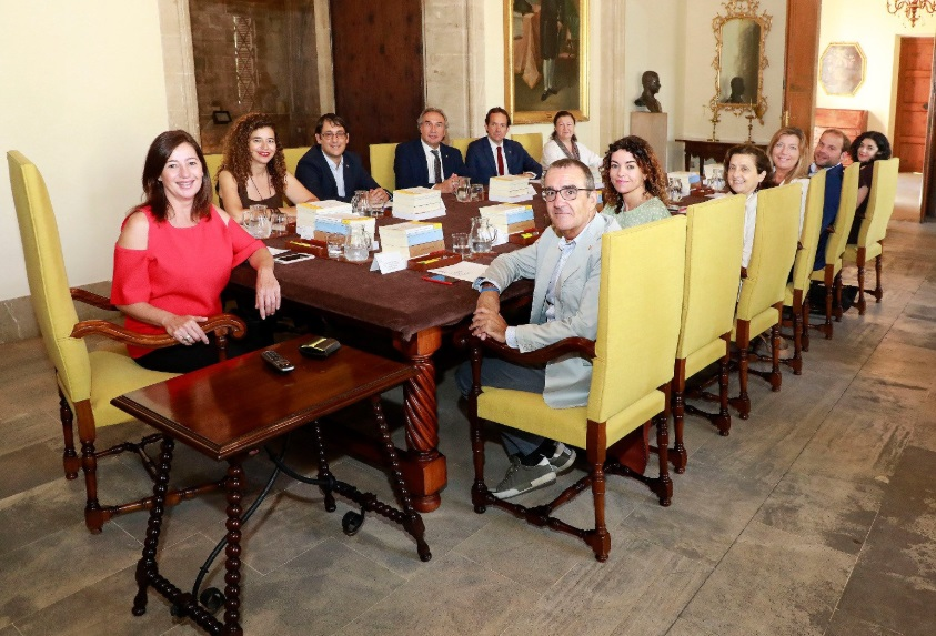 Imagen de archivo de una reunión del Consell de Govern de Baleares