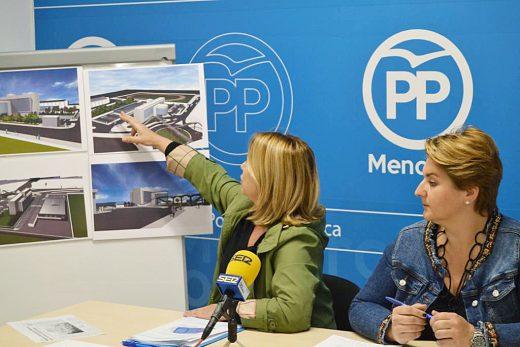Reynés presentó el proyecto en campaña electoral