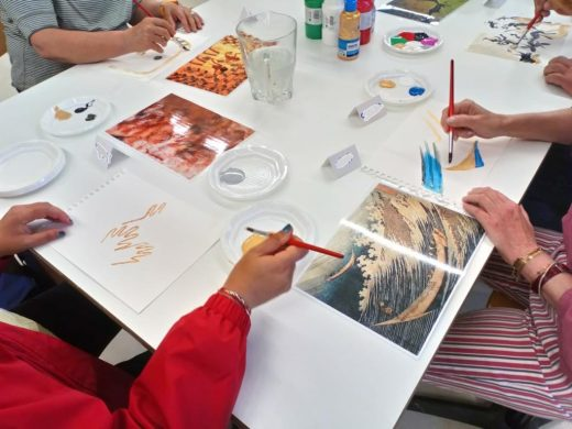 Los talleres ponen en valor la especial creatividad de personas con enfermedades mentales
