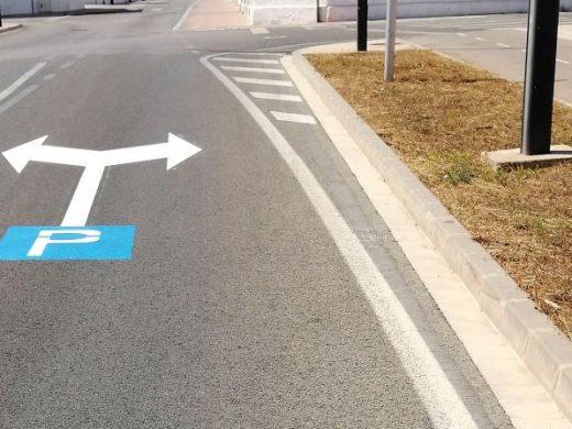 Habilitan nuevo aparcamiento para 40 vehículos en el Lloc d'en Caules