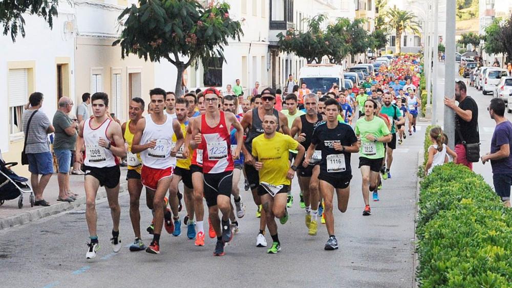 Imagen de la carrera en Ferreries (Foto: Tolo Mercadal)