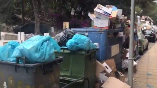 Imagen de la basura acumulada.