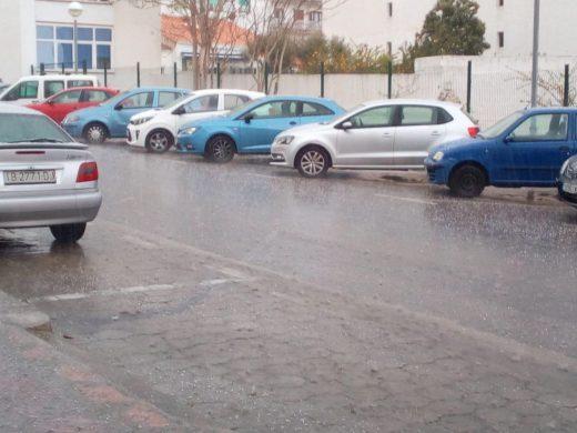 Lluvia en Maó.