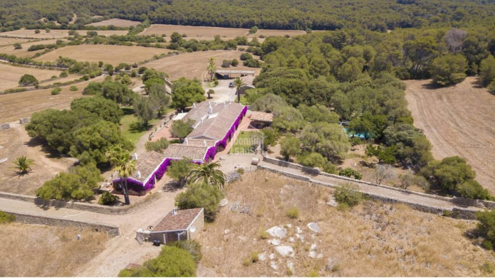 Imagen aérea de la finca (Fotos: Bonnin Sansó)